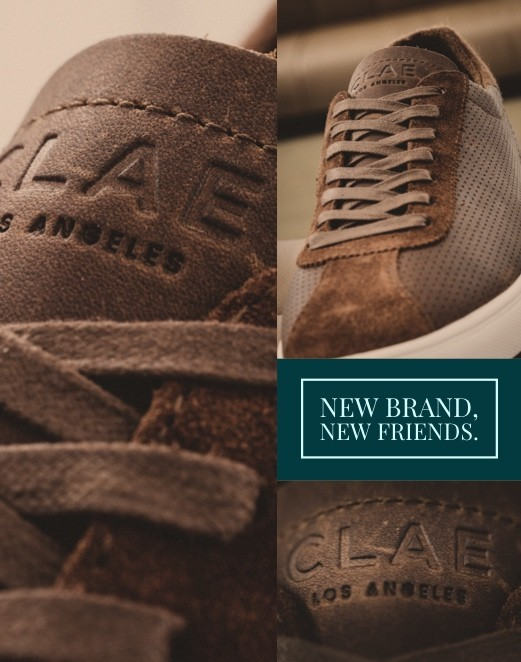 CLAE New Brand, New Friends
